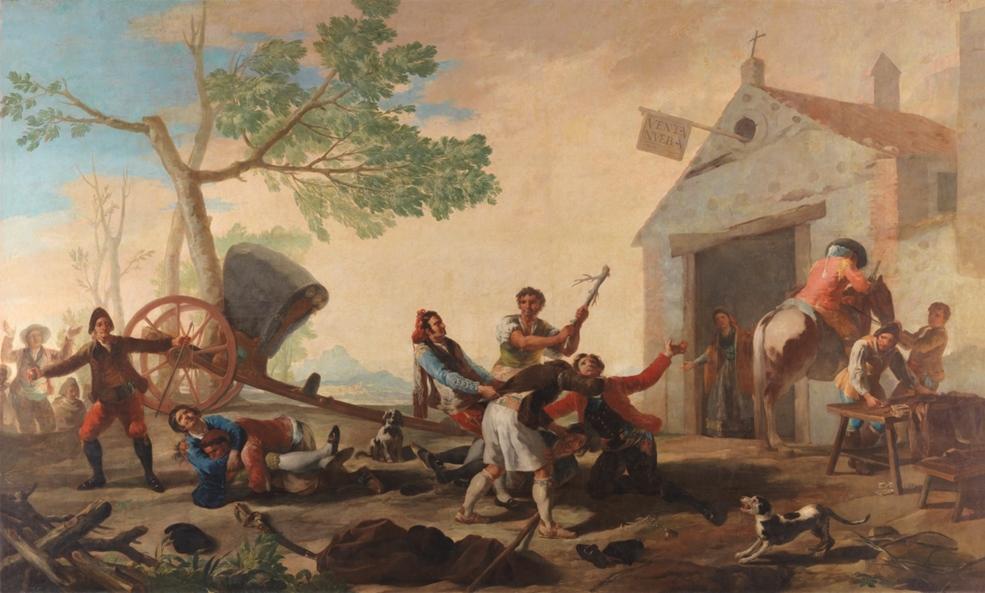 Francisco de Goya A Batalha de Venta Nueva