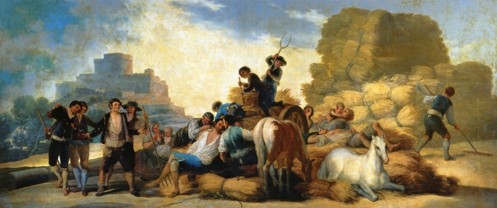 Francisco de Goya A Colheita