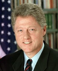 Surdos famosos Bill Clinton