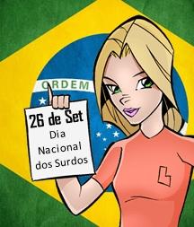 Menu Dia Nacional dos Surdos