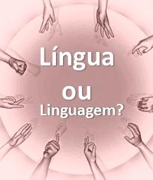 Menu Libras é Lingua ou Linguagem