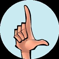 Alfabeto manual: Soletração (Médio)
